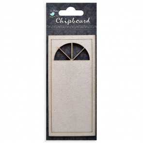 Little Birdie Chipboard  Arch Door 1Pcs