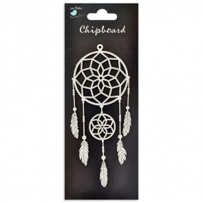 Little Birdie Chipboard Dream Catcher 1Pcs