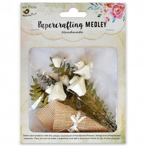 Little Birdie Paper Crafting Medley - Grace 17pcs
