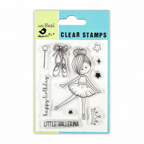 Little Birdie Clear Stamps - Little Ballerina 3x4 10pc