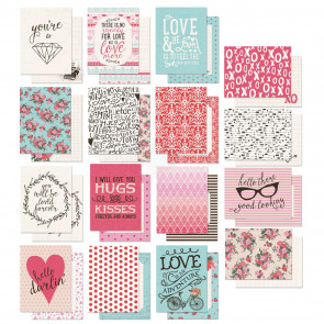 "Authentique Crush Crafting Pad 3x4"" Journaling Cards TASTER"