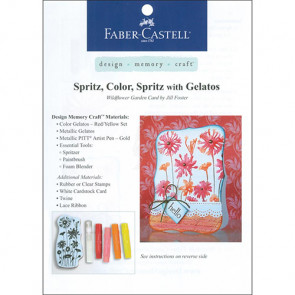 Gratis Leaflet Faber Castell Project Sheet - Faber Castell Spritz, Color, Spritz With Gelatos