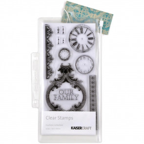 KaiserCraft Duchess Clear Stamps 8.25x4""