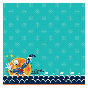 "Disney Speciality Paper 12x12"" - Donald Duck Glitter Thermography"