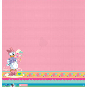 "Disney Speciality Paper 12x12"" - Daisy Glitter Thermography"