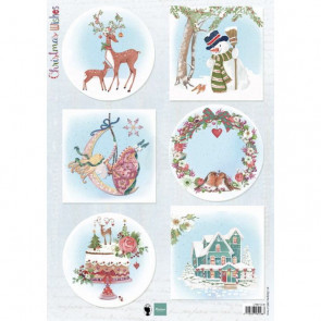 Marianne Design A4 3D Ark - Best Wishes Deer