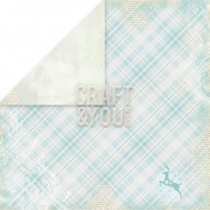 "Craft & You Design Frozen Dobbeltsidet Cardstock 12x12"" Paper - 01"