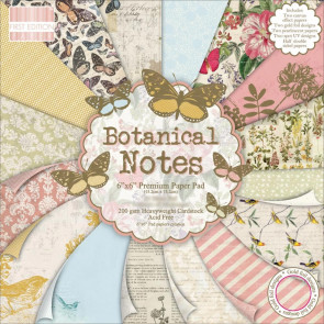 """TrimCraft First Edition Premium Paper Pad 6x6"""" - Botanical Notes TASTER"""