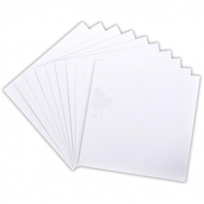 """Core'dinations 110lb Smooth Cardstock 12x12"""" 1 stk - White"""