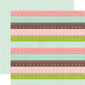 "Echo Park Bundle Of Joy Girl Double-Sided Cardstock 12x12"" - Lullaby"