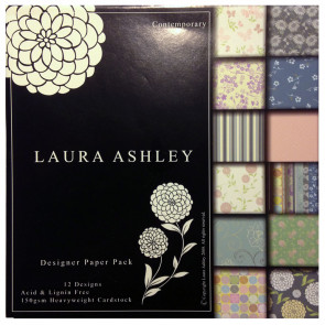 "Laura Ashley 6x6"" Paper Pack - Contemporary TASTER"
