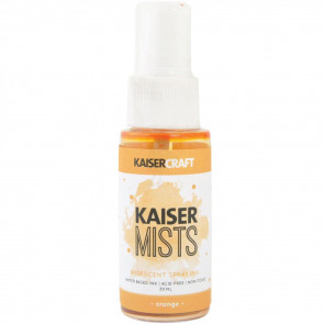 Kaisercraft KAISERmist Iridescent Spray Ink 30ml Orange