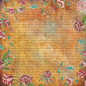 "Decorer Scrapbook Paper 12x12"" Design S233"