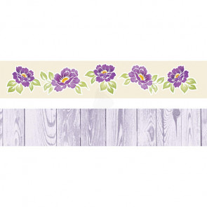 "Galeria Papieru Colorful Meadow Pynte Strips 2x12"" - Fiol"