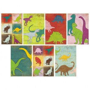 Decorer Scrapbook Sæt Mini Mini - Dinosaurs