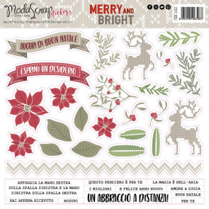 ModaScrap Stickers - Merry And Bright