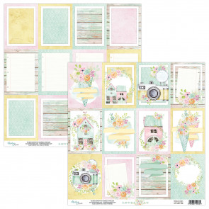 "Mintay Lovely Day Double-Sided Cardstock 12x12"" Design 6"