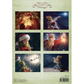 Nellie's Vintage A4 Ark Christmas Time 4