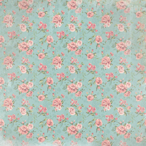 "Paper House Country Girl Enkeltsidet 12x12"" Paper - Country Floral"