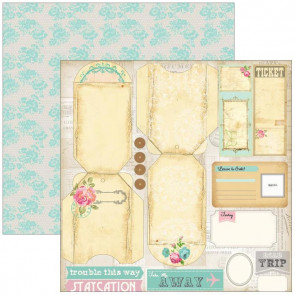 "Marion Smith Design Posh Double Sided Cardstock 12x12"" - Finer Things"