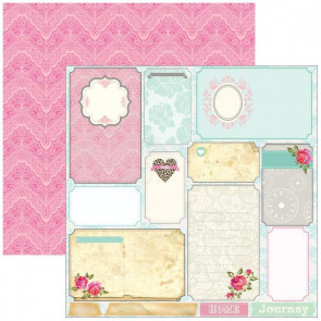 "Marion Smith Design Posh Double Sided Cardstock 12x12"" - Boutique"