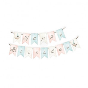 Piatek13 Paper Die-Cut Garland Cute & Co., 15PCS