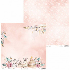 "Piatek13 Cute & Co Double-Sided Cardstock 12x12"" Design 6"