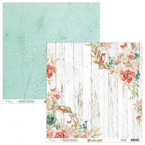 "Mintay Birdsong Double-Sided Cardstock 12x12"" Design 3"