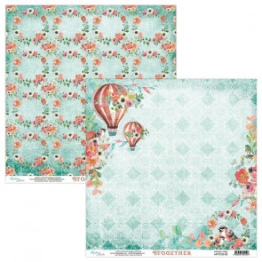 "Mintay Together Double-Sided Cardstock 12x12"" Design 2"