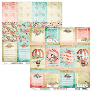 """Mintay Together Double-Sided Cardstock 12x12"""" Design 6"""