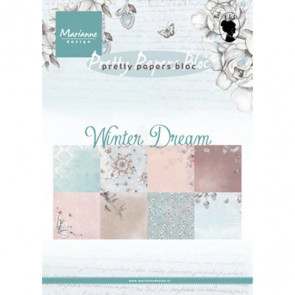 Marianne Design A5 Papirblok - Winter Dream TASTER