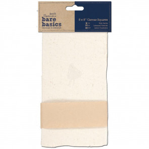 "Papermania Bare Basics Canvas Squares 8x8"" 1 Stk"