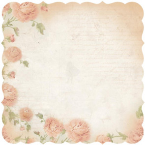"Kaisercraft Charlotte's Dream Die-Cut Paper 12x12"" - Contemplate"