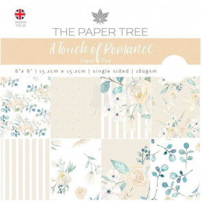"The Paper Tree 6x6"" Paperpad A Touch Of Romance TASTER"