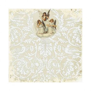 "Decorer Julepapir 8x8"" - Angels 5"
