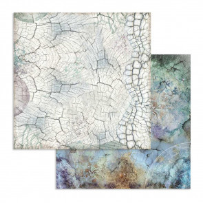 """Stamperia Double-Sided Cardstock 12x12"""" Cosmos Bark"""
