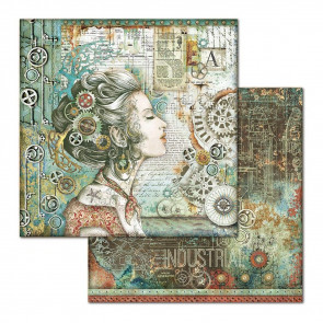 """Stamperia Double-Sided Cardstock 12x12"""" Lady"""