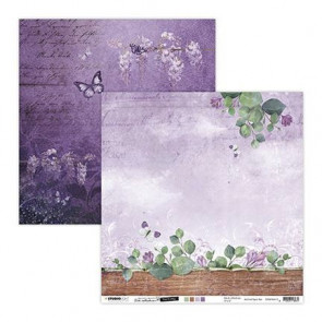 "StudioLight Dobbeltsidet Cardstock 12x12"" Time To Relax Collection"