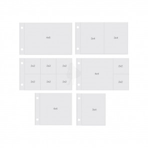 "Simple Stories Sn@p! Pocket Pages For 4x6"" Binders 10/Pkg Horizontal Variety"