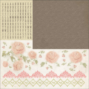 "KaiserCrafts Charlotte's Dream 12x12"" Cardstock Sticker Sheet"