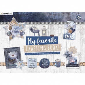 StudioLight Die-Cut Card Toppers A5 Snowy Afternoon