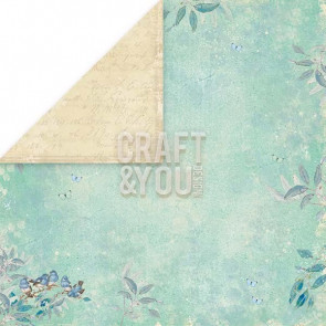 "Craft & You Design Double-Sided Cardstock 12x12"" - Spring Garden 06"