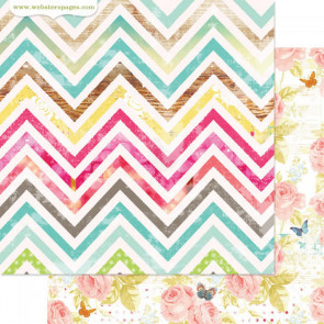"""Webster's Pages Nest Double-Sided Cardstock 12x12"""" - My Style"""
