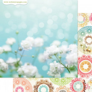 """Webster's Pages Nest Double-Sided Cardstock 12x12"""" - Life's Fabric"""