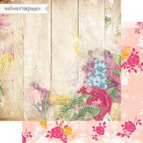 """Webster's Pages Dream In Color Double-Sided Cardstock 12x12"""" - Penny Emporium"""