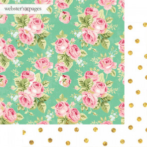 "Webster's Pages Make A Wish Double-Sided Cardstock 12x12"" - Dressed Up"