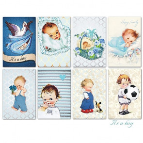 Decorer Scrapbook Sæt Mini Mini - It's A Boy TASTER