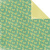 "KaiserCraft Mistletoe Double-Sided Cardstock 12x12"" Holly"