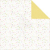 "Echo Park Bundle Of Joy/A New Addition Dobbeltsidet Cardstock 12x12"" - Baby Girl, Confetti"
