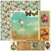 """Marion Smith Design Junque Gypsy Double Sided Cardstock 12x12"""" - Faux Pas"""